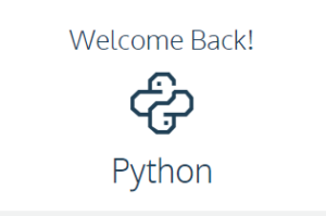 WelcomeBackPython